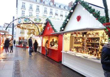 Le marché de Noël à Nantes