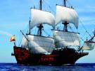 le bateau de pirates des caraibes à Nantes